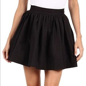 Kate Spade Coreen black mini skirt